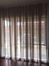 Large 4.9 M Stunning Sheer Curtain