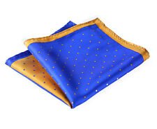 HN14B Handkerchief 100% Natural Silk Satin Mens Hanky Wedding Pocket Square