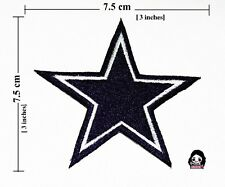 DALLAS COWBOY STAR NFL Football Logo embroidery iron-sewing-patch  on fabric