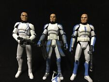 Star Wars Custom Clone Wars 501st Legion Clone Trooper Lot Hardcase Fives Jesse