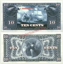 SERIES 112 USS CONSTITUTION 10c SPECIMEN FANTASY ART MILITARY PAYMENT CERT!