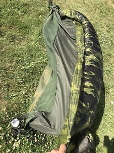 outdoor military style hammock with net and tarp