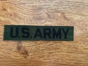 US Army Name Tape Strip USGI Embroidered