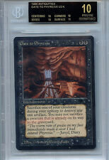 MTG Antiquities Gate To Phyrexia BGS 10 (10.0) Pristine Black Label Card WOTC