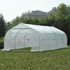 Portable Heavy Duty 11'/20'x10'x7' Walk-In Green House Plant Garden Greenhouse