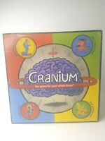 Cranium Board Game - The Game For Your Whole Brain - Vintage 1998 NEW OPEN BOX