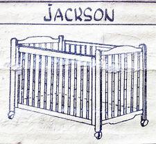 """""""Bettenried"""" Babybett Kinderbett Gitterbett hochwertig, 140x70 cm ohne Matratze"""
