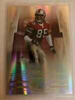 Vernon Davis 2007 Donruss Threads Gold Holofoil #D /50 San francisco 49ers