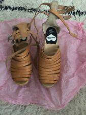 H&M Swedish Hasbeens Strappy Leather Sandals