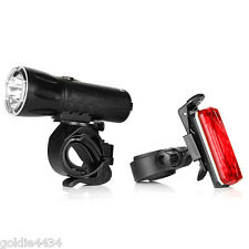 NEBO BIKE Light Combo BAR MOUNT Bicycle LED Light & RED Tail Light 5953