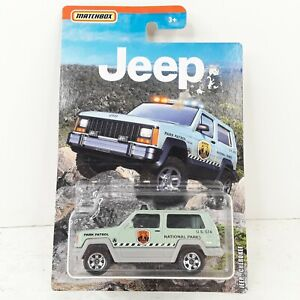 Matchbox Jeep Series Jeep Cherokee National Parks Patrol 2019 New