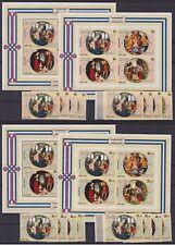 Burundi 1980 MNH Full set of Stamps & Sheets - CHRISTMAS - Cat Val: 176 €..P561b