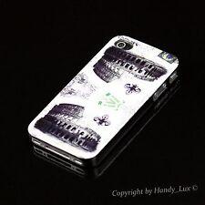 Apple iPhone 4 4S Hard Case Schutz Hülle Etui Motiv Rom Italy Italien