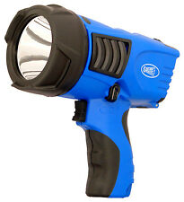 Clulite Clu-briter - 500 Lumen 600m Beam Rechargeable Spot Light Blue