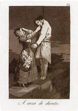 Goya Prints: Los Caprichos 12, 4, 20: 3 Fine Art Prints