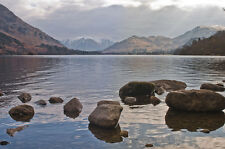 """Lake District In Spring Canvas Pictures 16""""X20"""" Derwent Water England Art Prints"""