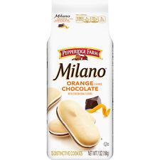 Milano Orange Cookies, 7 oz. Bag