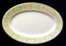 Vintage Shenango Oval Platter China Pottery Serving Numbered Restaurant Ware USA