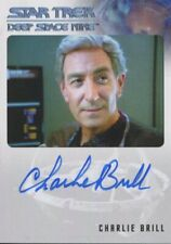 Star Trek Deep Space Nine Heroes & Villains Autograph Charlie Brill