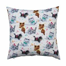 Smitten Kitten Vintage Inspired Cushion Pillow Cover - Rock Your Baby fabric