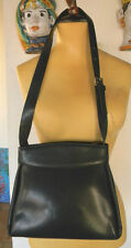 FRANCESCO BIASIA BORSA DONNA DA SPALLA PELLE BLU SPLIT LEATHER WOMAN'S BAG