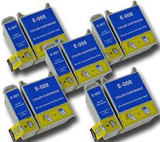 10 T007/08 non-OEM Ink Cartridge For Epson Stylus Photo 870 875 875DC 890 895