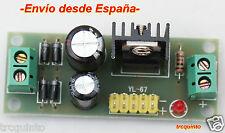 Mini fuente de alimentación DC 5v 1,2A, entrda AC-DC 7,5 a 20v, L7805 o LM7805