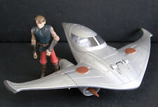 Star Wars Naboo Star Skiff Space Ship with Anakin Skywalker Action Figure