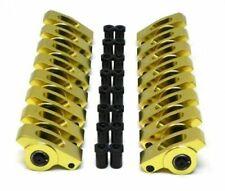Sbc Small Block Chevy 350 400 Aluminum Roller Rocker Arms 716 Stud 15 Ratio