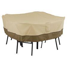 Classic Accessories Veranda Square Table & Chair Cover, 55-227-011501-00