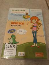CD Grundschule Deutsch Klasse 1-2 Lernspaß mit Hexe Lilli NEU