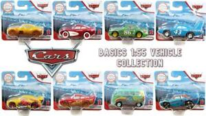 Cars Disney Pixar Basics Collection 1:55 Vehicles - CHOOSE YOUR FAVOURITES!
