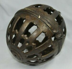 "Vintage Antique General Store Cast Iron String/Twine Holder~Decorative~5.5"" x 4"""