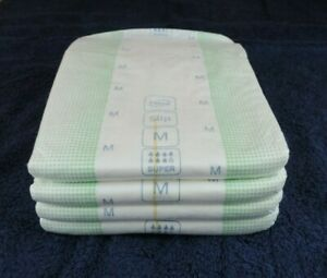 4 x TENA Slip Super Medium Adult Nappy - Diaper.