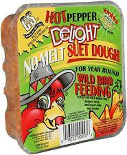 New listing Hot Pepper Delight,No Melt Suet Is Mixed Into A Soft Dough , 11.75 Oz, 12-Piece