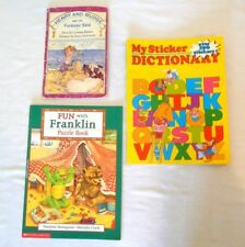 Lot-Henry & Mudge & the Forever Sea, My Sticker Dictionary, Franklin * Children