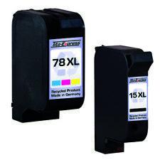 HP 15 & 78 Cartouche D'Imprimante Pour PSC750 PSC 750 HP15 HP78