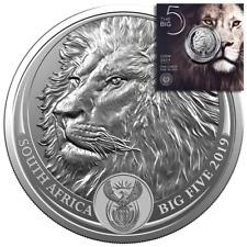 Südafrika - 5 Rand 2019 - Big Five Serie (2.) - Löwe - 1 Oz Silber ST