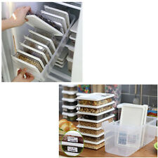 Clean Refrigerator Food Containers Microwave Takeaway Freezer Safe Storage Set