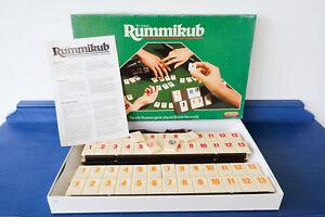 Original RUMMIKUB Board Game. 100% complete. Spears Games. Vintage 1988.