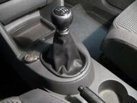 Cuffia leva cambio Volkswagen Touran in vera pelle antracite