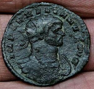 AURELIAN. JUPITER & EMPEROR, Milan 270-275 AD, 22.5mm, 3.1g, Ancient Roman Coin
