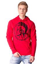 RRP €115 DIESEL Size L Men's S-AGNES Mohawk Print Pullover Hoodie / Sweatshirt