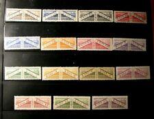 San Marino Stamp Scott#  Q1-Q15 Parcel Post Stamps  1928  MH  L311