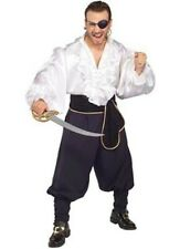 Pirates of the Seven Seas SWASHBUCKLER Pirate Fancy Dress Costume - Standard