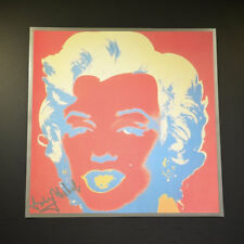 "Andy Warhol, ""Marilyn Monroe"", from a 1982 VIP Catalog.  Red-Red-Silver (Backgro"