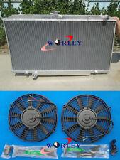 For NISSAN PATROL Y61 GU 2.8 3.0 TD 4.2L 97-01 diesel MT Aluminum Radiator +fan
