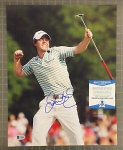 Rory McIlroy Signed 11x14 Golf Photo Autographed Beckett BAS COA AUTO