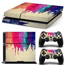 New Sony PlayStation 4 PS4 Console 2 Controllers Vinyl Skin Sticker Decal Cover