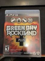 Green Day: Rock Band Plus (Sony PlayStation 3 PS3, 2010) COMPLETE CIB Tested!